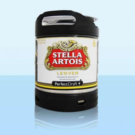 Stella Artois, fût de 6 litres