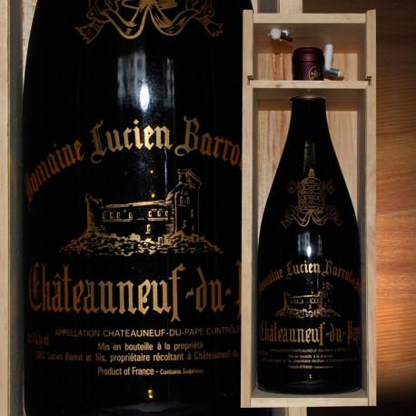 Magnum 1,5l Chateauneuf du Pape caisse bois