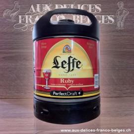 Offre spéciale - Leffe Rubis, fût de 6litres