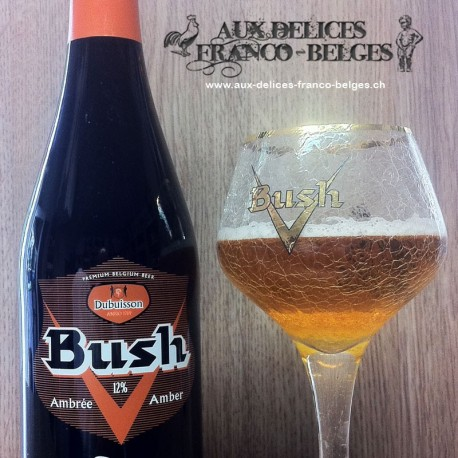 Bush Triple Ambrée 75cl