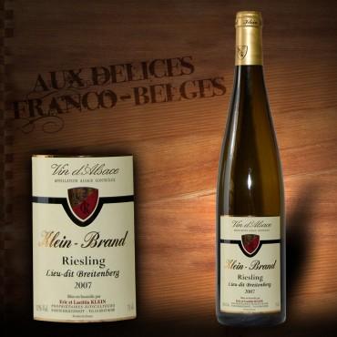 Alsace Riesling 2012 Klein Brand