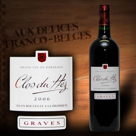 """Graves Rouge 2012 AOC """"Clos du Hez"""""""