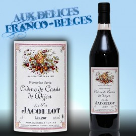 Crème de Cassis de Dijon 20° Jacoulot