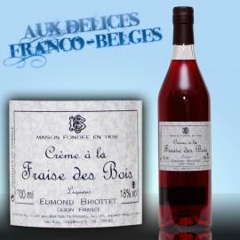 Crème de Fraise Des Bois 18° Briottet