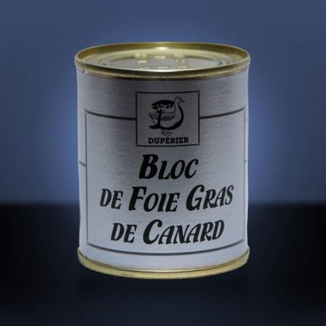 Bloc de foie gras de canard 130gr (origine Landes)