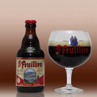 St-feuillien brune (abbaye) 33cl