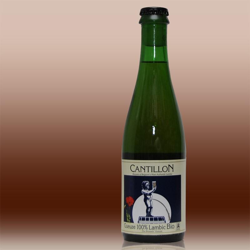 La gueuse du Poje Cantillon Etiquette de bière