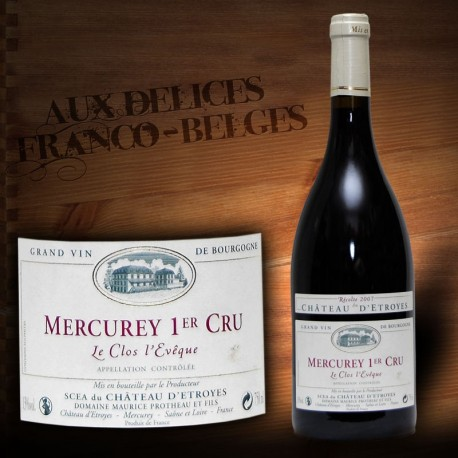 Mercurey 1er Cru Château d'Estroyes
