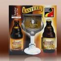1 bt Kasteel 75cl offerte - Valisette Kasteel 4bt + 1verre