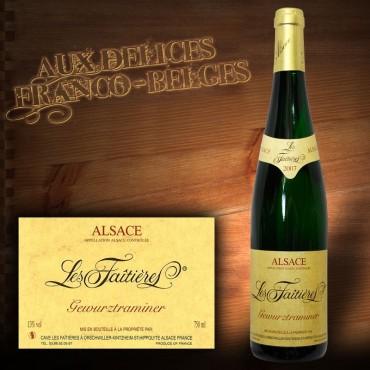 Alsace Gewurztraminer 2012 AOC «Les Faîtières» : 3 pour 2