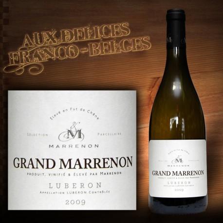 "Côtes du Lubéron blanc 2010 AOC "" Grand Marrenon"""