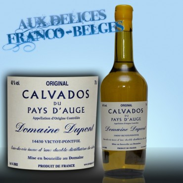 Calvados AOC 40°, Domaine Dupont